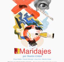 MARTÍN CÓDAX. Un proyecto de Collage, Diseño e Ilustración de mauro hernández álvarez - Viernes, 22 de mayo de 2015 00:00:00 +0200