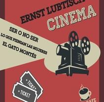 Cartel para una sesión de cine del cineasta Ernst Lubtisch. A Design, Illustration, Editorial Design, and Graphic Design project by Andrea Peña         - 04.02.2015