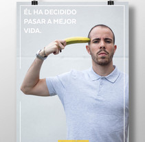 "Cartel ""Mejor vida"".. A Graphic Design project by Pedro Sánchez González         - 25.05.2015"