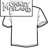 Diseño de Camisetas - Monkey Island. Um projeto de Design gráfico e Serigrafia de Mireya Capitaine         - 15.05.2015