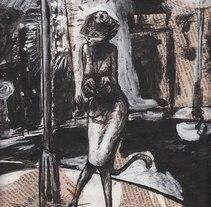 Portada Nº 37 Revista Exégesis. Un proyecto de Ilustración de Miguel Angel Arqués Orobón         - 26.05.2015
