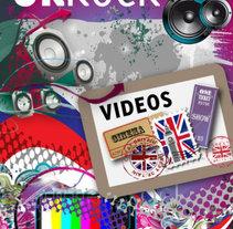 Uk Rock | Cover Design . Un proyecto de Ilustración, Dirección de arte y Diseño gráfico de Natalia Delgado Deus         - 28.05.2011