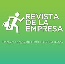 REVISTA DE LA EMPRESA. Um projeto de Br, ing e Identidade, Design gráfico e Desenvolvimento Web de Rodolfo Mastroiacovo         - 01.06.2015