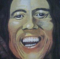 Bob Marley 1. A Fine Art project by Andrés López         - 28.08.2014