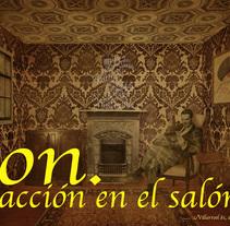 ON.Acción en el salón. A Art Direction, Creative Consulting, Events, Collage, and Video project by Carmen Berasategui Verástegui         - 04.05.2015