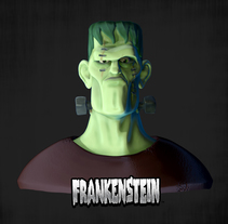FRANKENSTEIN ZBRUSH CURSO. A 3D, and Character Design project by Adrián Andújar         - 08.06.2015