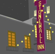 Stonewall Inn. A Illustration, and Graphic Design project by The power of citizenship  - 09-06-2015