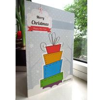 """""""Merry"""" Posts Card. Un proyecto de Diseño gráfico de Rocío Albertos Casas - 15-06-2015"""