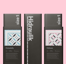 Hidraulik. A Design, Art Direction, Br, ing, Identit, Graphic Design, Packaging, Product Design, and Web Development project by Huaman Studio  - 16-06-2015