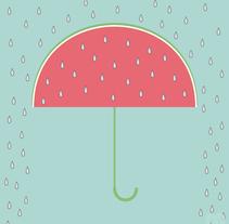 Rica lluvia. Un proyecto de Ilustración de María Bravo Guisado         - 16.06.2015
