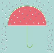 Rica lluvia. A Illustration project by María Bravo Guisado         - 16.06.2015