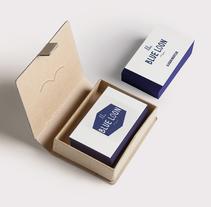 THE BLUE LOON.IDENTIDAD.. Um projeto de Design, Br, ing e Identidade e Design gráfico de cakes and ink         - 17.06.2015