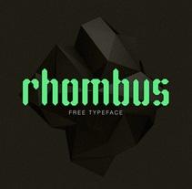 Rhombus. Un proyecto de Tipografía de Juan GPM         - 21.06.2015