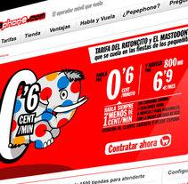 Website Pepephone . A Art Direction, Design, Web Design&Illustration project by Jose Orozco - Jun 25 2015 12:00 AM