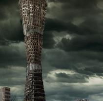 The Apocalypse - Digital Matte Painting. Um projeto de Design gráfico de Félix Higuera Jorna         - 24.06.2015