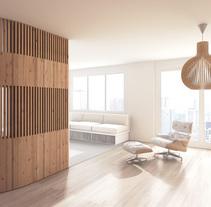Apartment in Paris. A Design, 3D, Architecture&Interior Architecture project by Víctor Montes          - 25.06.2015