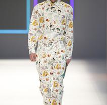 "pattern ""Aftersun""  Krizia Robustella 080 Barcelona. Um projeto de Ilustração, Artesanato, Moda e Artes plásticas de Susana López         - 01.07.2015"