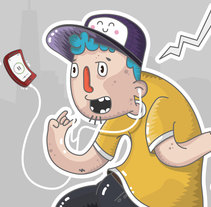Oh Yeah!!!. Um projeto de Ilustração, Direção de arte e Design de personagens de Rubén Martín Fernández - 03-07-2015