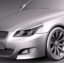 Impresión  3D, bmw serie 5 E60. A Product Design project by Joaquin  Lamarca Oliveira         - 13.07.2014