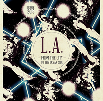 L.A. :: Dcode Festival 2015. A Design, Illustration, Music, and Audio project by Oscar Giménez - 16-07-2015