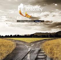Diseño para grupo de música LORELEY. Um projeto de Design, Br, ing e Identidade e Design gráfico de Jose Jesús de la Asunción Cano         - 19.07.2015