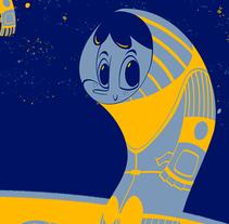 Astro Builders. Un proyecto de Ilustración, Diseño de personajes y Diseño de juguetes de Antonio Silvestre - 19-07-2015