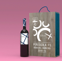 Packaging Promocional para Peñiscola FS Bodegas Dunviro. A Packaging, and Product Design project by Pablo Arenzana - 13-04-2014