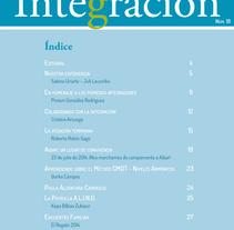 Revista. Um projeto de Design editorial de marta jaunarena         - 14.11.2014