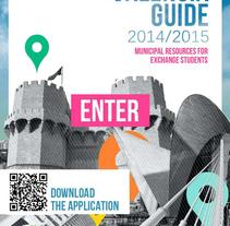 ::: Valencia guide 2014/2015 ::: Diseño editorial, iconos app. / Editorial design, app icons.. Un proyecto de Diseño editorial y Diseño gráfico de Sara pdf         - 31.05.2014