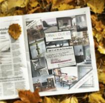 Proyectos publicidad en prensa. A Advertising, and Graphic Design project by Natalia Peña - 04-08-2014