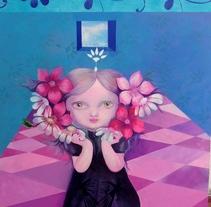 """Pintura acrílica - Título """"Yo soy"""". Un proyecto de Bellas Artes de Mariella Kampoy         - 18.09.2016"""