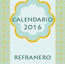 Refranero. Un proyecto de Ilustración de Rocío  - 10-08-2015