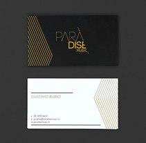 Paradise Music.. Un proyecto de Br, ing e Identidad y Diseño gráfico de Menta Picante         - 12.08.2015