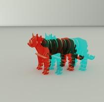 Corte láser. A 3D project by Guillermo Órtix          - 14.08.2015