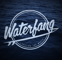 Waterfang. A Br, ing, Identit, Graphic Design, T, pograph, and Lettering project by Carles Ivanco Almor         - 13.08.2015