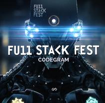 Full Stack Fest. Um projeto de Motion Graphics, 3D e Animação de Morphika         - 19.08.2015