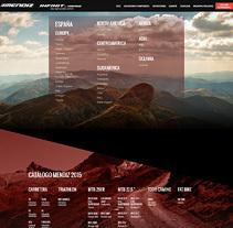 bicismendiz.com. A Web Design, Web Development, Design&Interactive Design project by Eloy Ortega Gatón - Aug 23 2015 12:00 AM