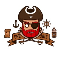 Pirate life. A Design, Illustration, Character Design, and Graphic Design project by Sergio Puente Aragoneses         - 26.08.2015