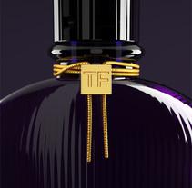 Tom Ford | Velvet Orchid. Um projeto de Publicidade, 3D e Design de produtos de Javier Albañil Mogollón         - 30.06.2015