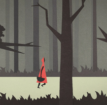 Red Riding Hood - Corto de animación realizado en stop-motion. A Animation, and Graphic Design project by Diego García de Enterría Díaz - 30-08-2015