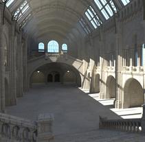 Texturing Lighting Natural History Museum (Arnold Render)). Un proyecto de 3D, Arquitectura y Diseño gráfico de Ignacio  Cordero Landaluce - 05-09-2015