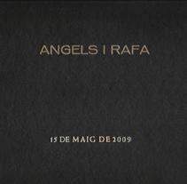 Àngels & Rafa /// #boda #santcugatdelvalles #lafloresta. A Design, and Photograph project by Silvia Miralles Badia         - 14.05.2009