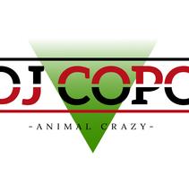 Logotipo Dj Copo. A Graphic Design project by Lucho Palacios - 17-09-2015