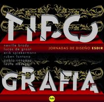 Experimentación tipográfica. A Graphic Design project by Lucho Palacios - 18-09-2015