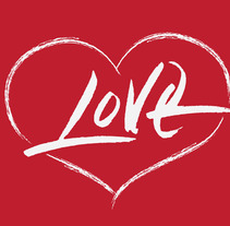 Lettering (LOVE). A Graphic Design, T, pograph, and Calligraph project by Ana Avila         - 18.09.2015