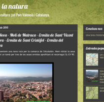 "Blog sobre senderismo y medio rural ""Camins en la natura"". A Film, Video, and TV project by Ismael Chiva         - 20.09.2015"