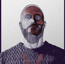 Vikings: Red inside. A Illustration project by Leonardo Hernandez         - 21.09.2015