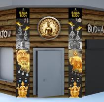 Graph store bisutery. . Um projeto de Instalações, Br, ing e Identidade e Design gráfico de Daniel  - 16-09-2015