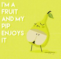 Yo soy fruta.... Um projeto de Ilustração de memosesmas         - 14.07.2015