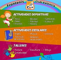 Flyer infantil. Un proyecto de Diseño gráfico de Juan Bares         - 23.09.2015